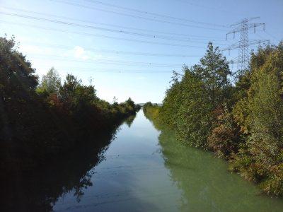 Herbstbeginn am Marchfeldkanal