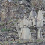 Richard Löwenherz zu Pferde