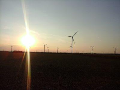 Sonnenuntergang am Helmahof