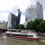 Schiffsfahrt auf dem Donaukanal
