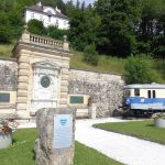 Ghega Denkmal am Bahnhof Semmering