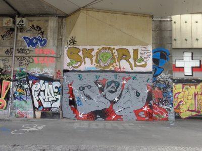 Grafitti an der Donaulände