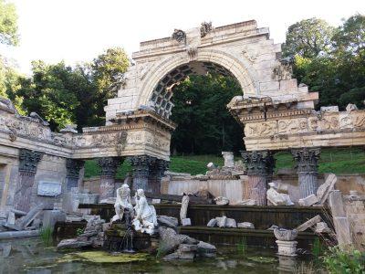Römische Ruine in Schönbrunn