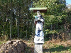 Heiligenstatue bei Mannsdorf