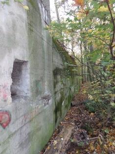 Alter Bunker aus dem Weltkrieg