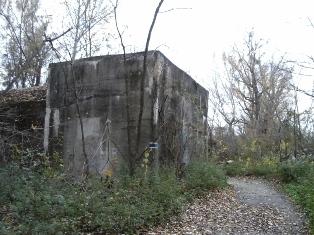 Bunker an der Panozzalacke