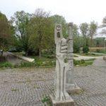 Skulptur im Donaupark