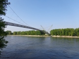 Pipeline in den Donauauen