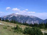 Schneebergblick vom Gsolhirn
