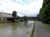 Schnellbahnbrücke am Donaukanal