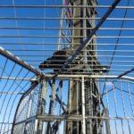 Bungee Rampe am Donauturm