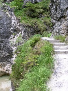 Wanderweg Almbachklamm