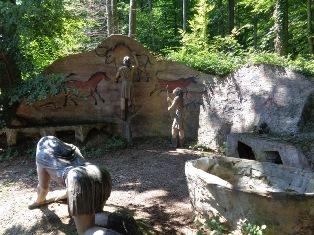 Steinzeit Darstellung