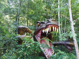 Maul des Tyrannosaurus