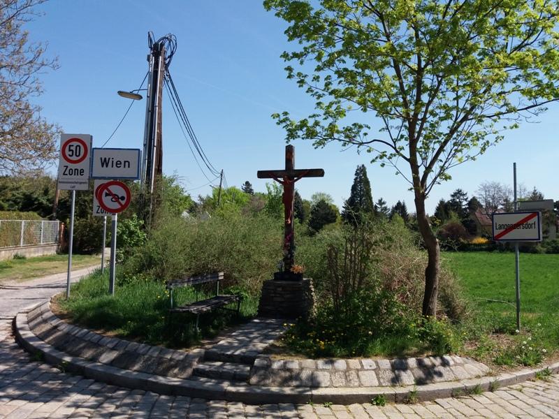 Kreuz unterm Klausgraben