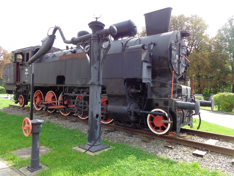 Alte Lok in Payerbach