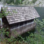 Bootshaus an der Talsperre