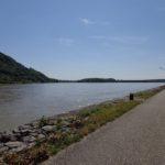 Donauradweg nach Greifenstein