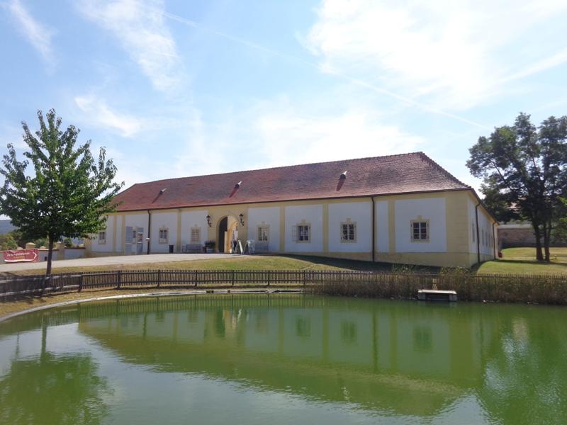 Eingangsbereich Schloss Hof