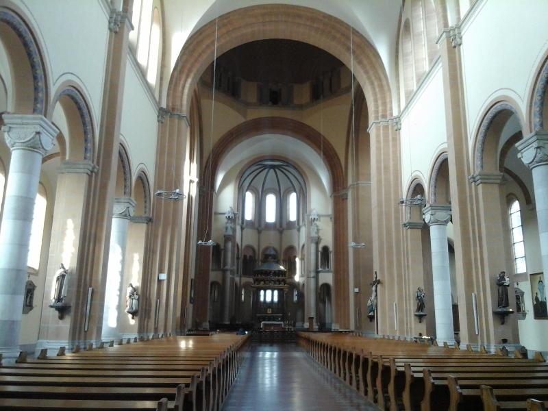Innenansicht Mexikokirche
