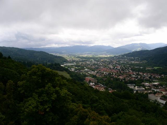 Blick auf Littenweiler