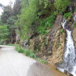 Radweg bei der Salza Talsperre