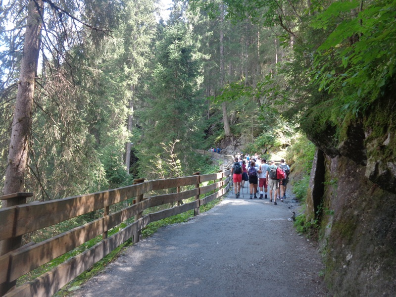 Wanderweg Krimmler Wasserfälle