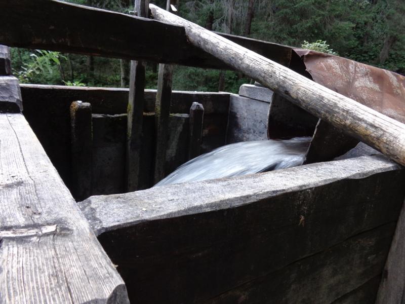 Wasserzufuhr Tuxer Mühle