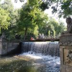 Wasserfall in Laxenburg