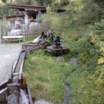 Wasserrinnen bei Juns