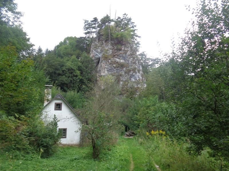 Haus bei Ruine Scheuchenstein