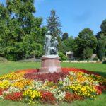 Im Kurpark Baden