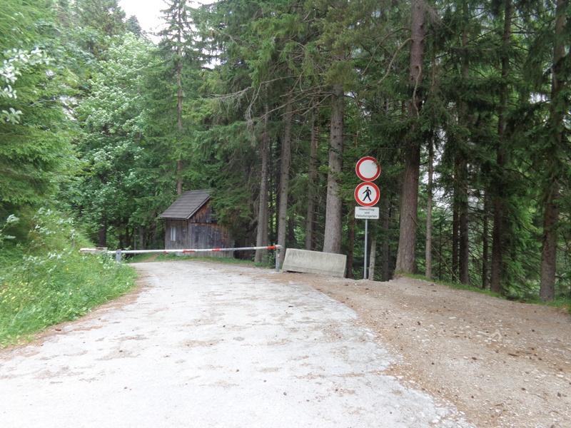 Parkplatz Salza Talsperre