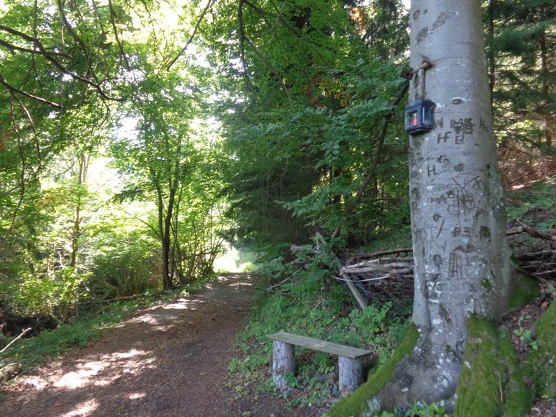 Pause bei Reitzenberg
