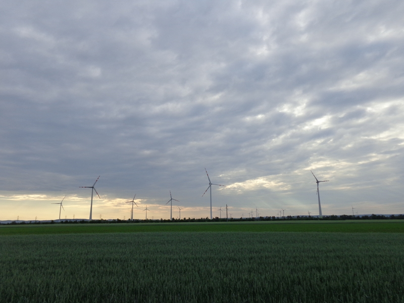 Windkraft bei Deutsch Wagram