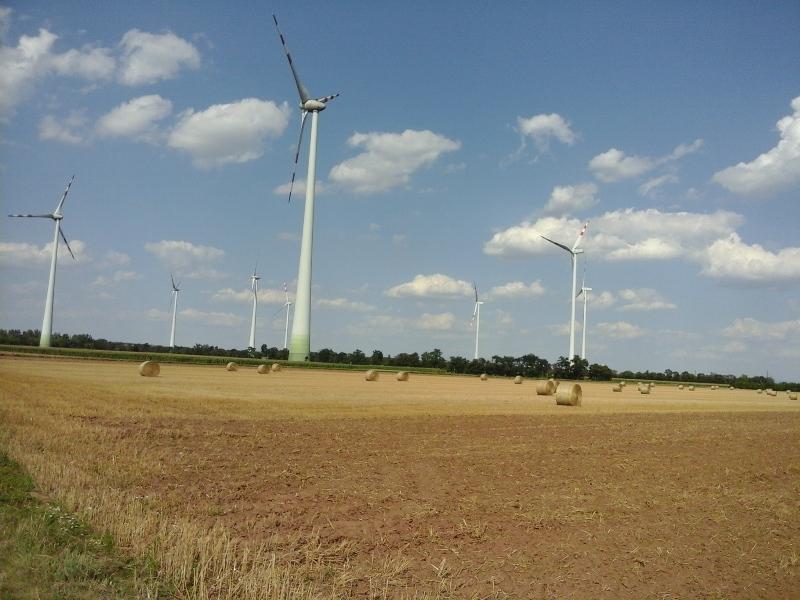 Windräder bei Deutsch Wagram