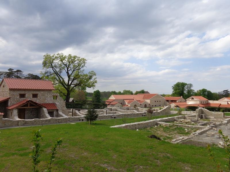 Antikes Wohnviertel