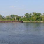 Ende der Donauinsel