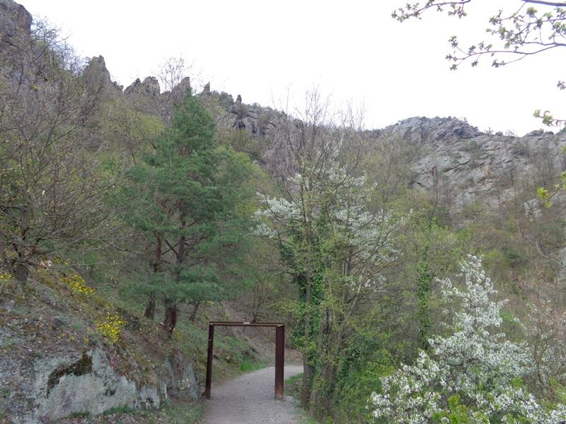 Weg zur Ruine Dürnstein