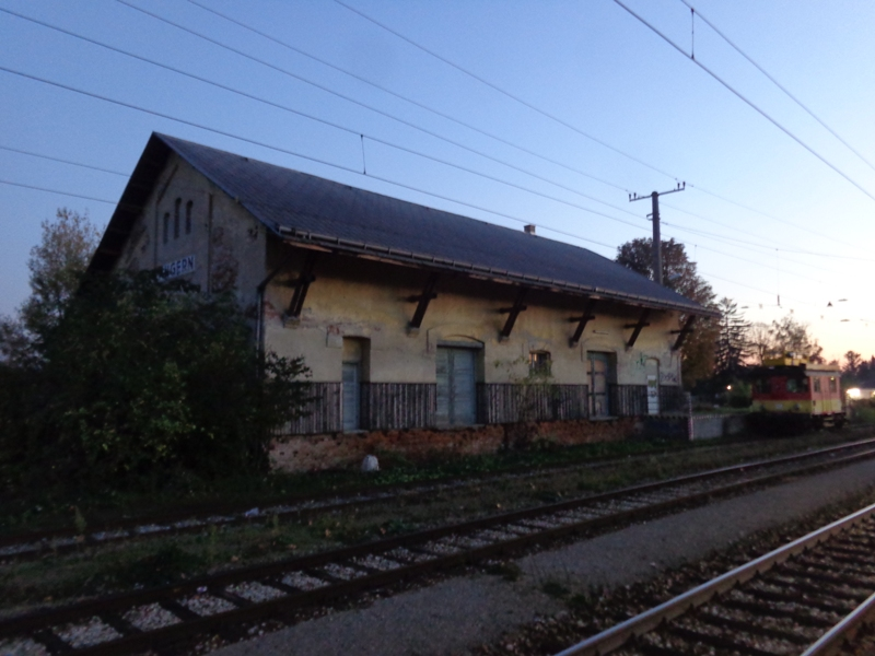 Alter Bahnhof Angern