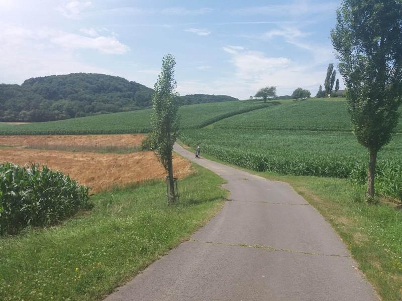 Landschaft bei Poppendorfberg