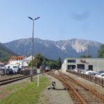 Bahnstation in Puchberg