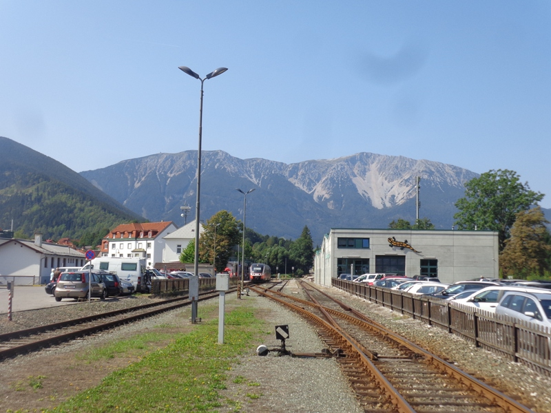 Bahnstation in Puchberg