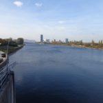 Schleusenbrücke Neue Donau