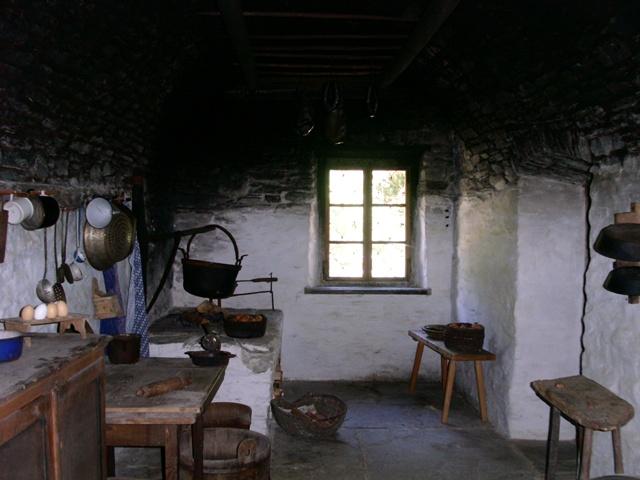 Alte Bauernküche