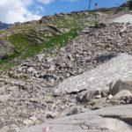 Geröll am Alpenblumenweg