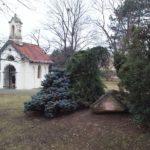 Monumentalkapelle im Sahulkapark