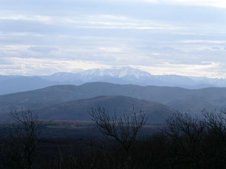 Schneebergblick von der Wilhelmswarte