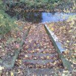 Stufen zum Bach
