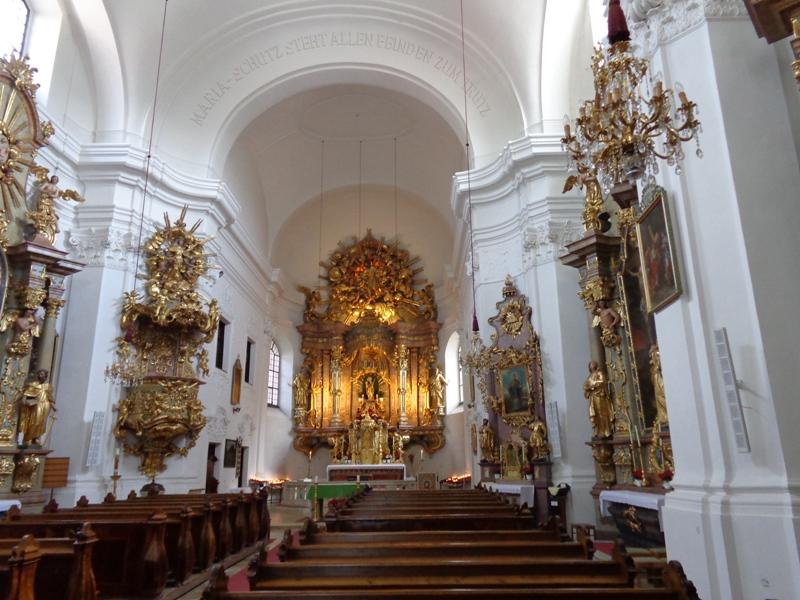 In der Kirche Maria Schutz